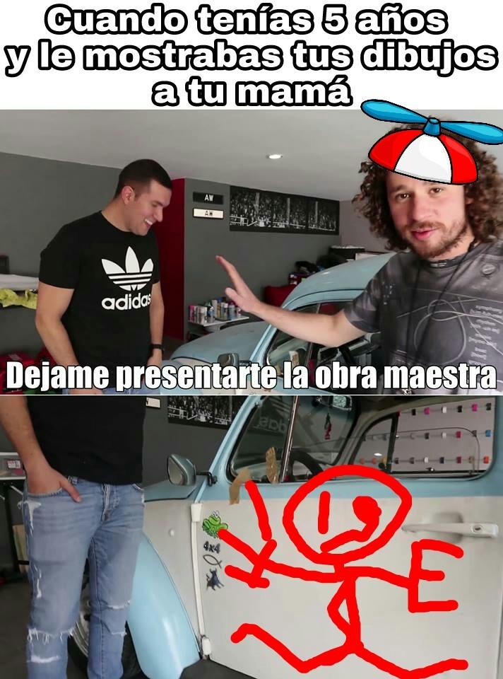 Luisito, un dios - meme