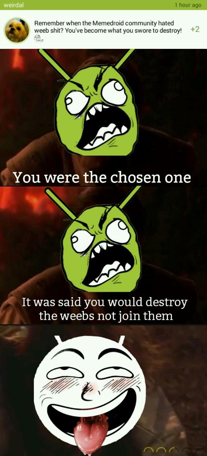 Weebdroid - meme