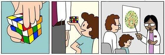 Colorblind - meme
