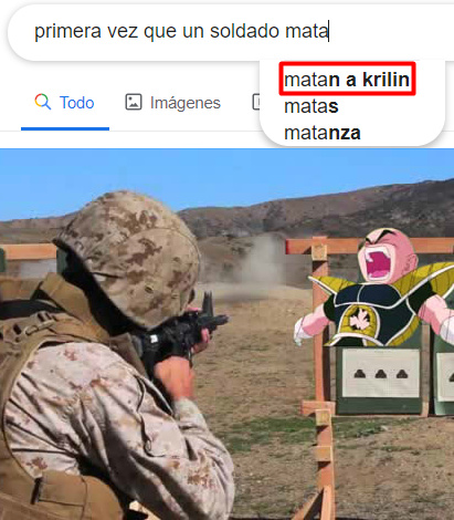 Oh no, Mataron a Krilin! Hijos de p*ta! - meme