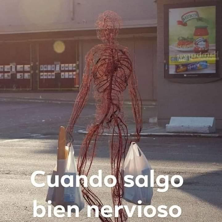 Nervioso - meme