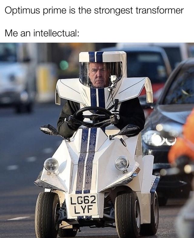 The strongest transformer - meme