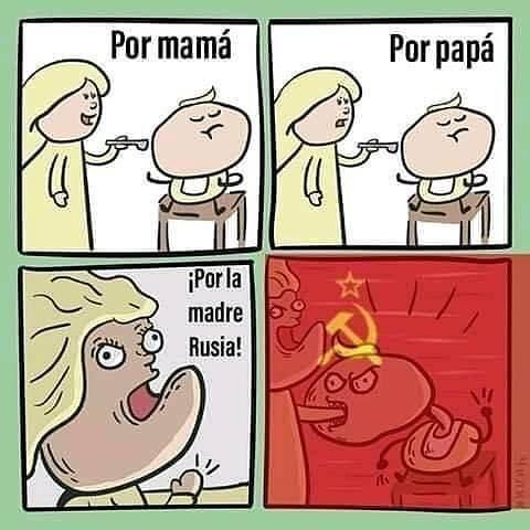 asi lo hacemos en la madre rusia - meme