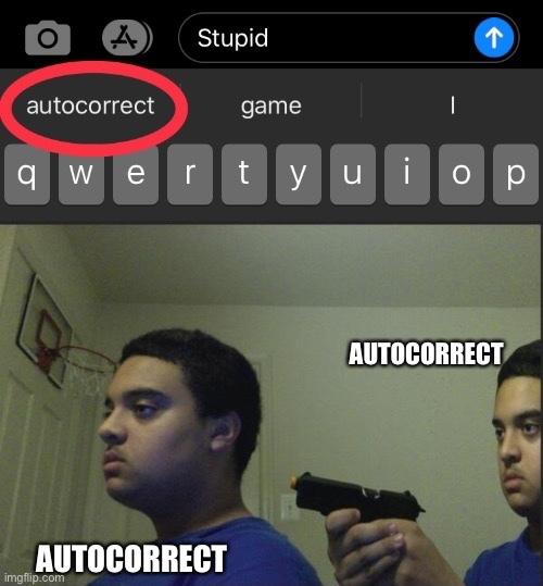 stupid autocorrect - meme