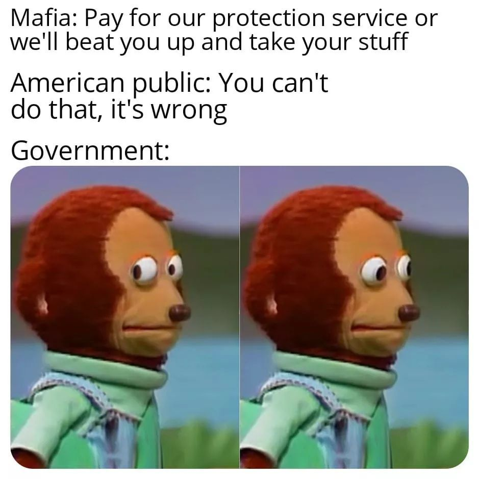remember, taxation is theft - meme