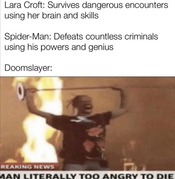 Doomslayer: - meme