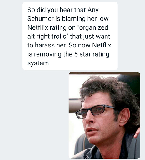Jeff Goldblum is dumbfounded. - meme