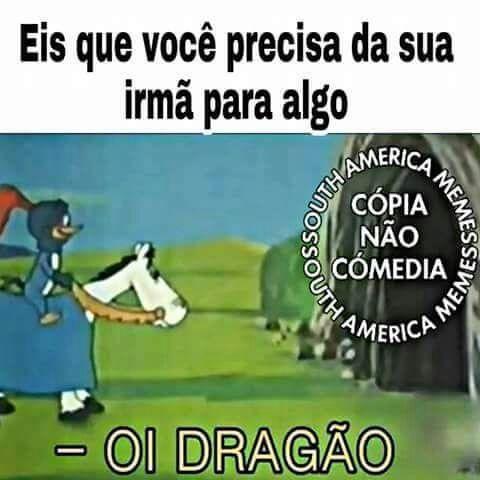 Kk eae dragão (repost n passa) - meme