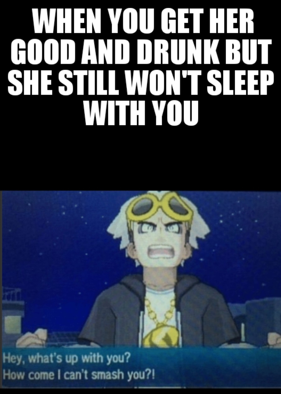 Guzma sucked - meme