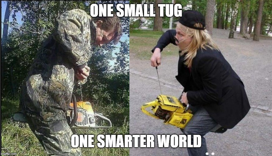 One Small Tug for All Mankind - meme