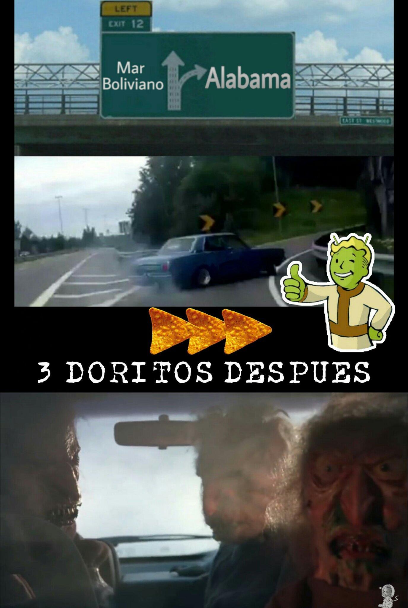 Por eso mejor al mar boliviano - meme