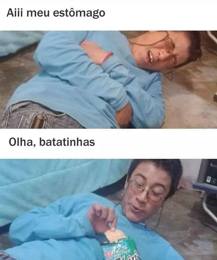 hummm batatinhas - meme