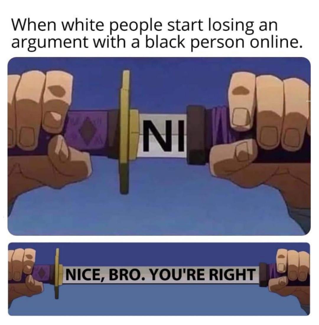 Nice bro, you're right - meme