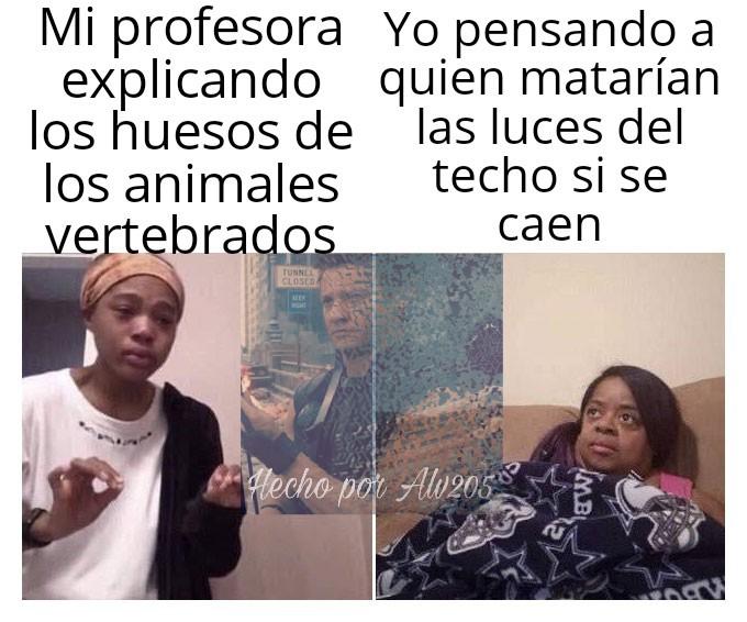 En mi país en las escuelas no hay ventilador - meme