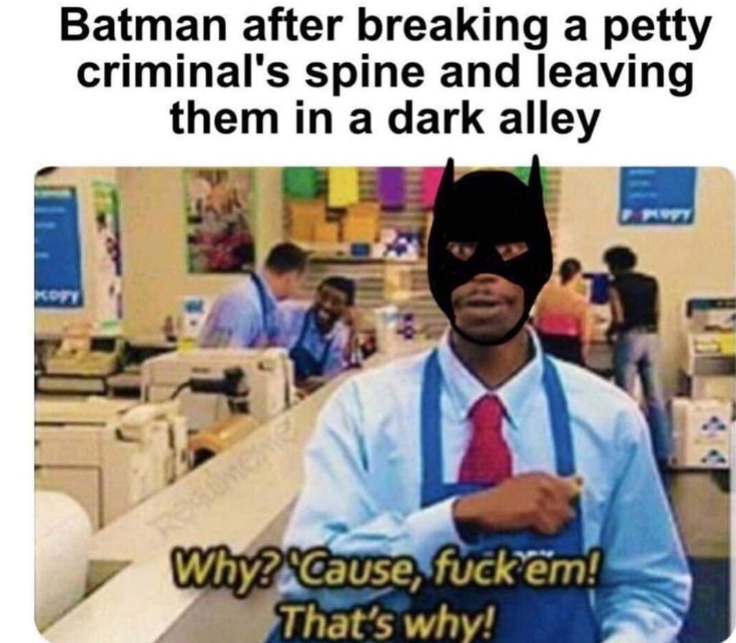 I don't kill I cripple - meme
