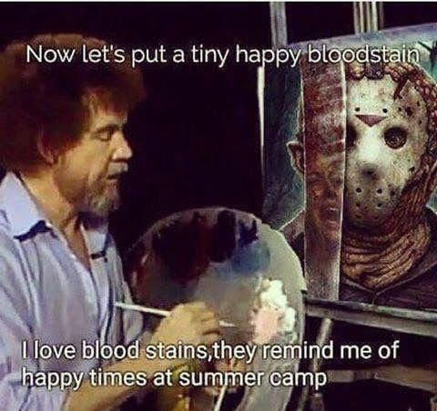 Bob Ross Jason - meme