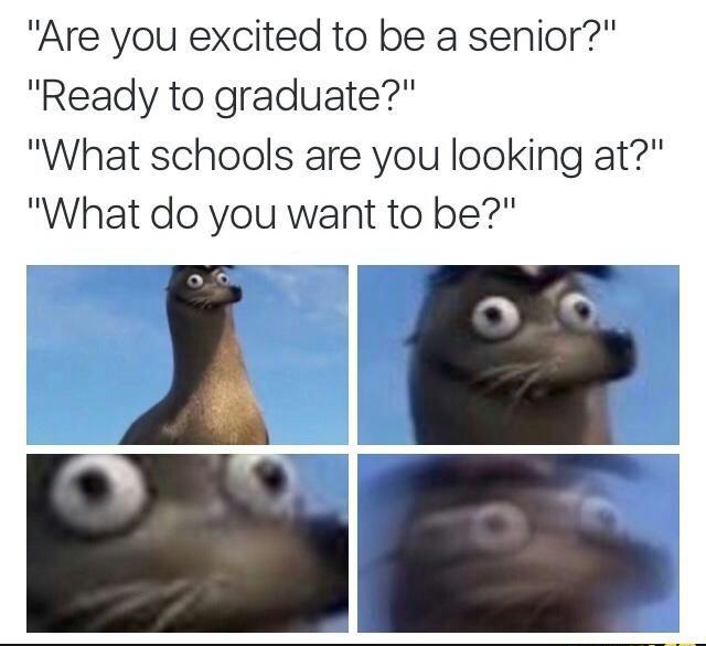 Oh boy semester starts soon - meme
