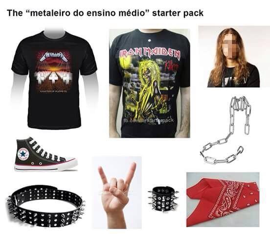 metal is the law - meme