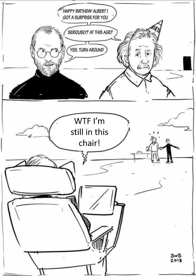 Death by Hawking Radiation Exposure - meme