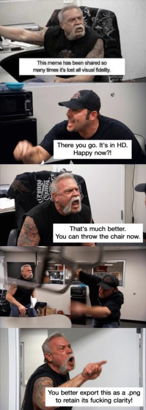 I love me some HD memes