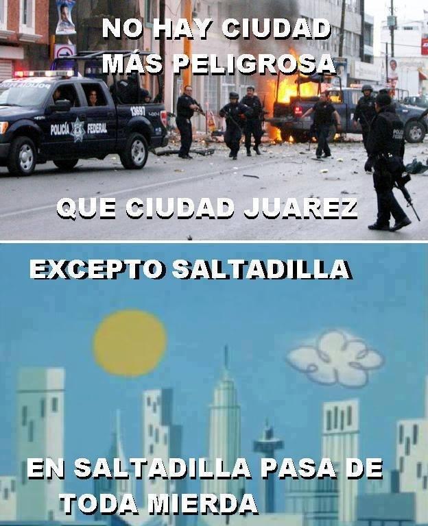 La ciudad de Saltadilla - meme