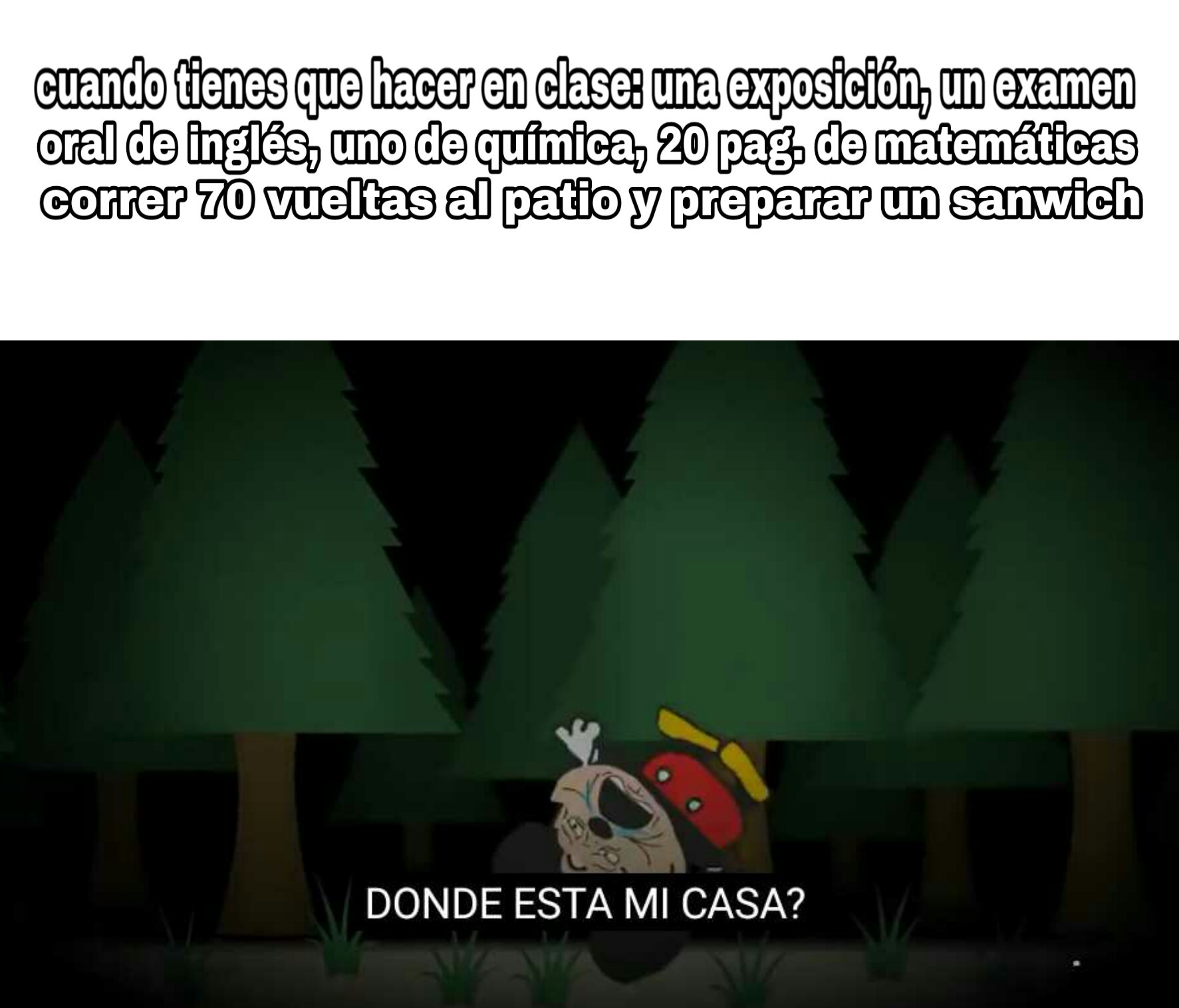 DONDE!? :,( - meme