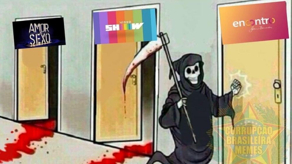 TV globinho será vingada - meme