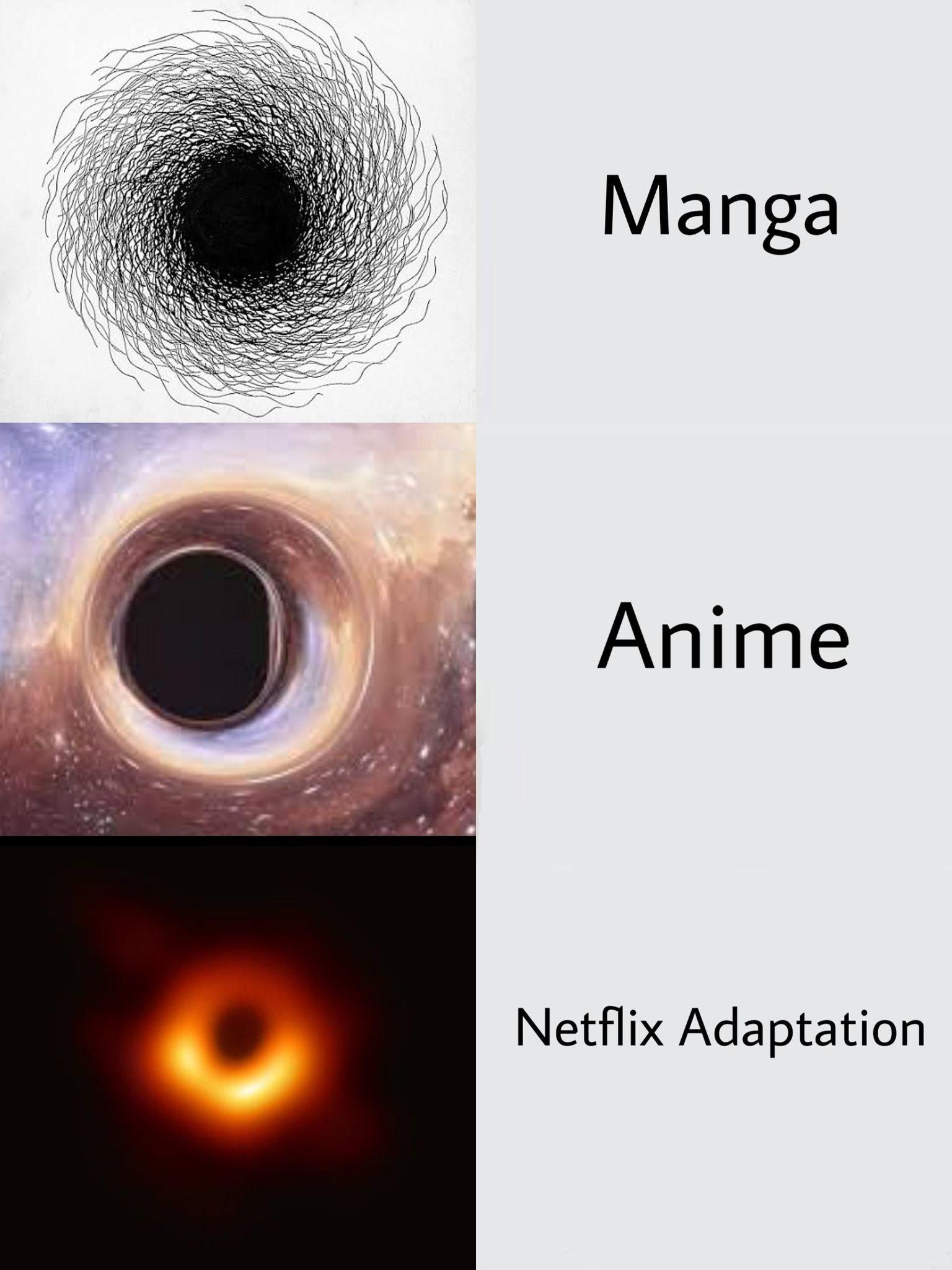 That fucking black hole - meme