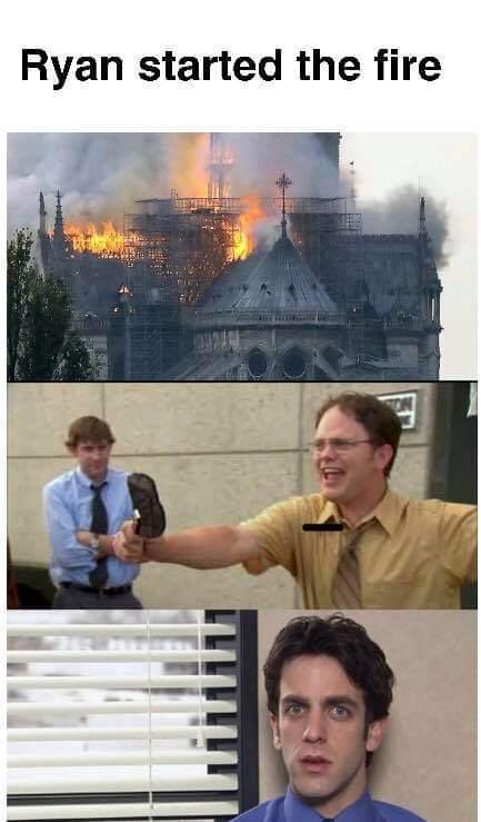 Fire-d guy - meme
