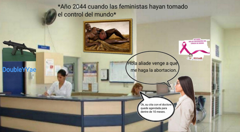 Tal vez la sociedad cambie, pero el ministerio de salud no. - meme