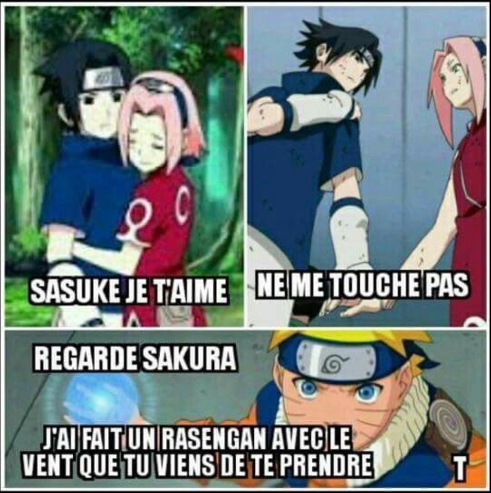 Ma pauvre Sakura - meme