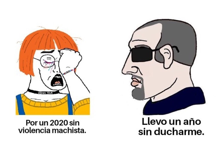 todos orangutakus en 2020 - meme
