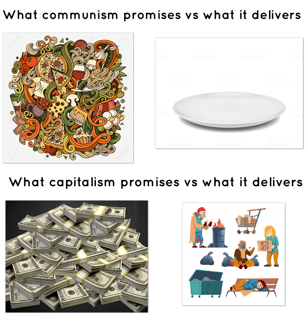 Capitalism vs Communism - meme