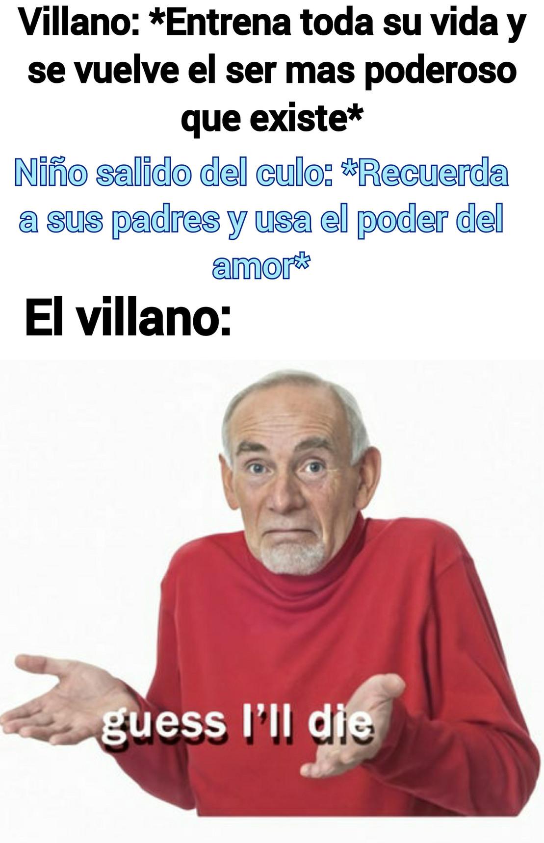 Animé genérico be like - meme