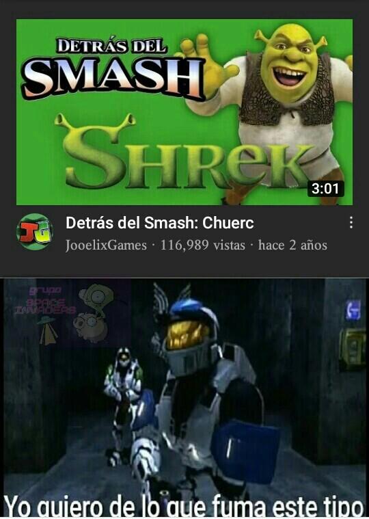 Guatafack Chrek es Smash. Guatafack - meme