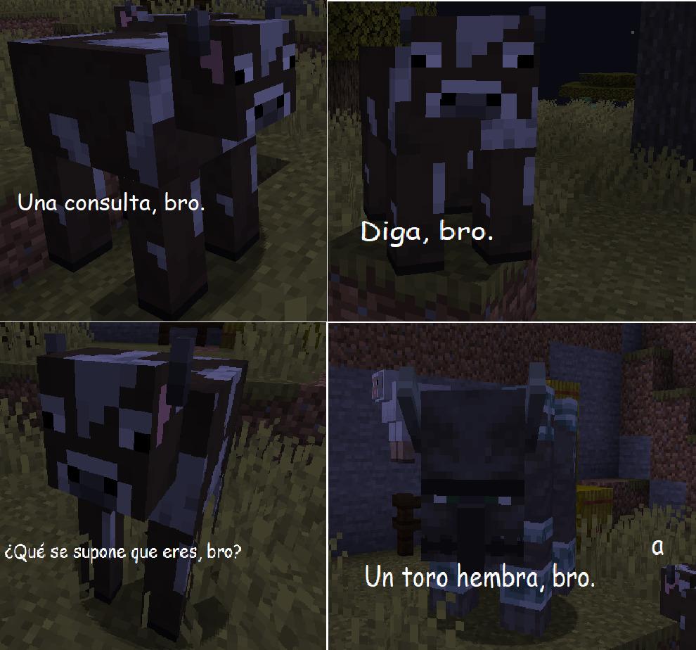Lógica de Minecraft be like: - meme