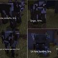 Lógica de Minecraft be like: