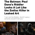 Riddle me this Batman...