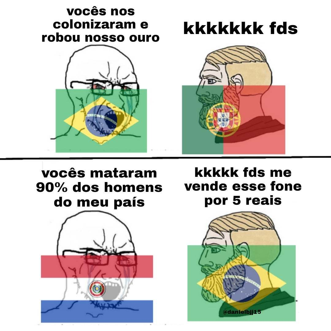 O Brasil já foi mais foda do que é e bla bla Imperio - meme