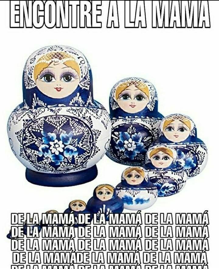 La mama de la mama - meme