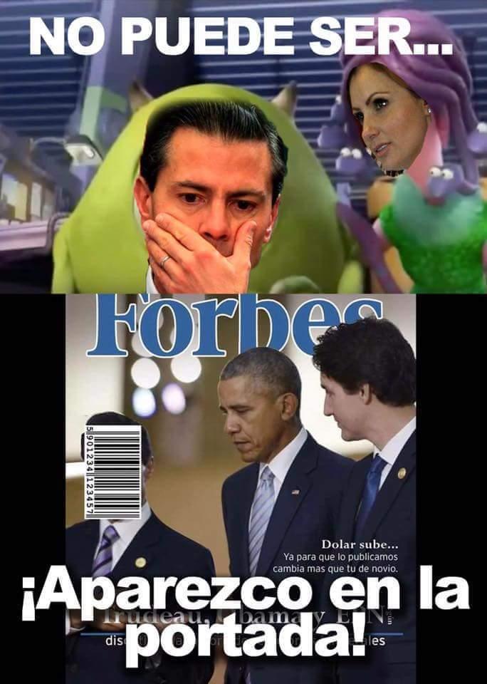 Presidente respetable peña - meme
