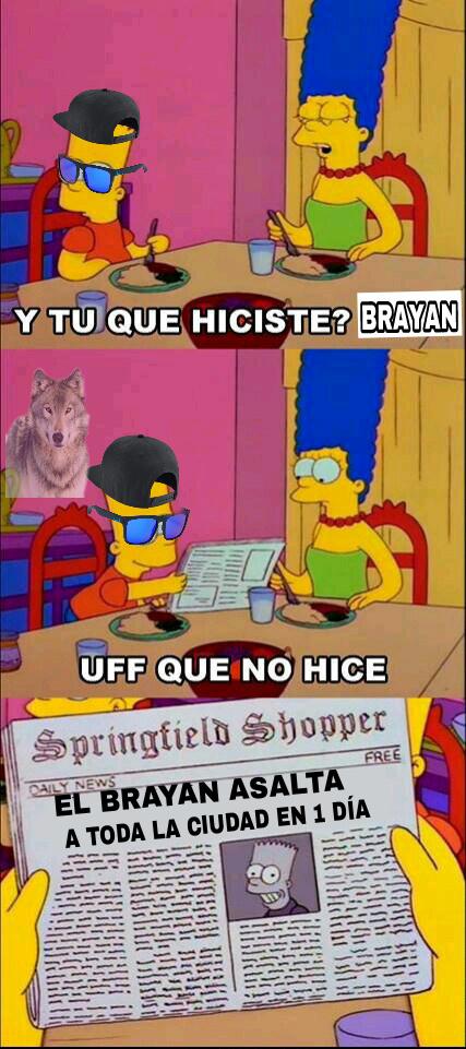 El brayan - meme