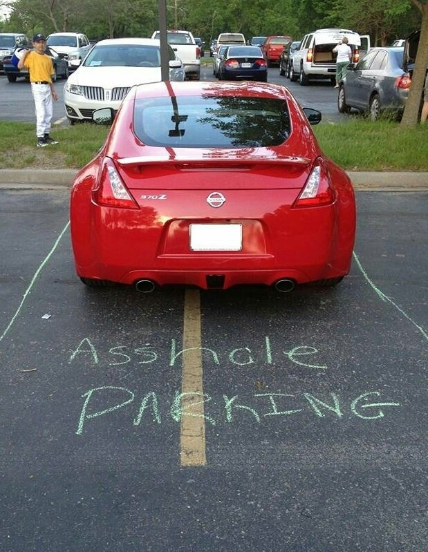 Asshole parking - meme