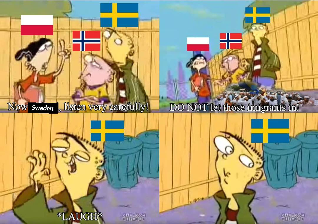 Damn it Sweden. - meme