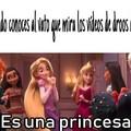 Es una princesa