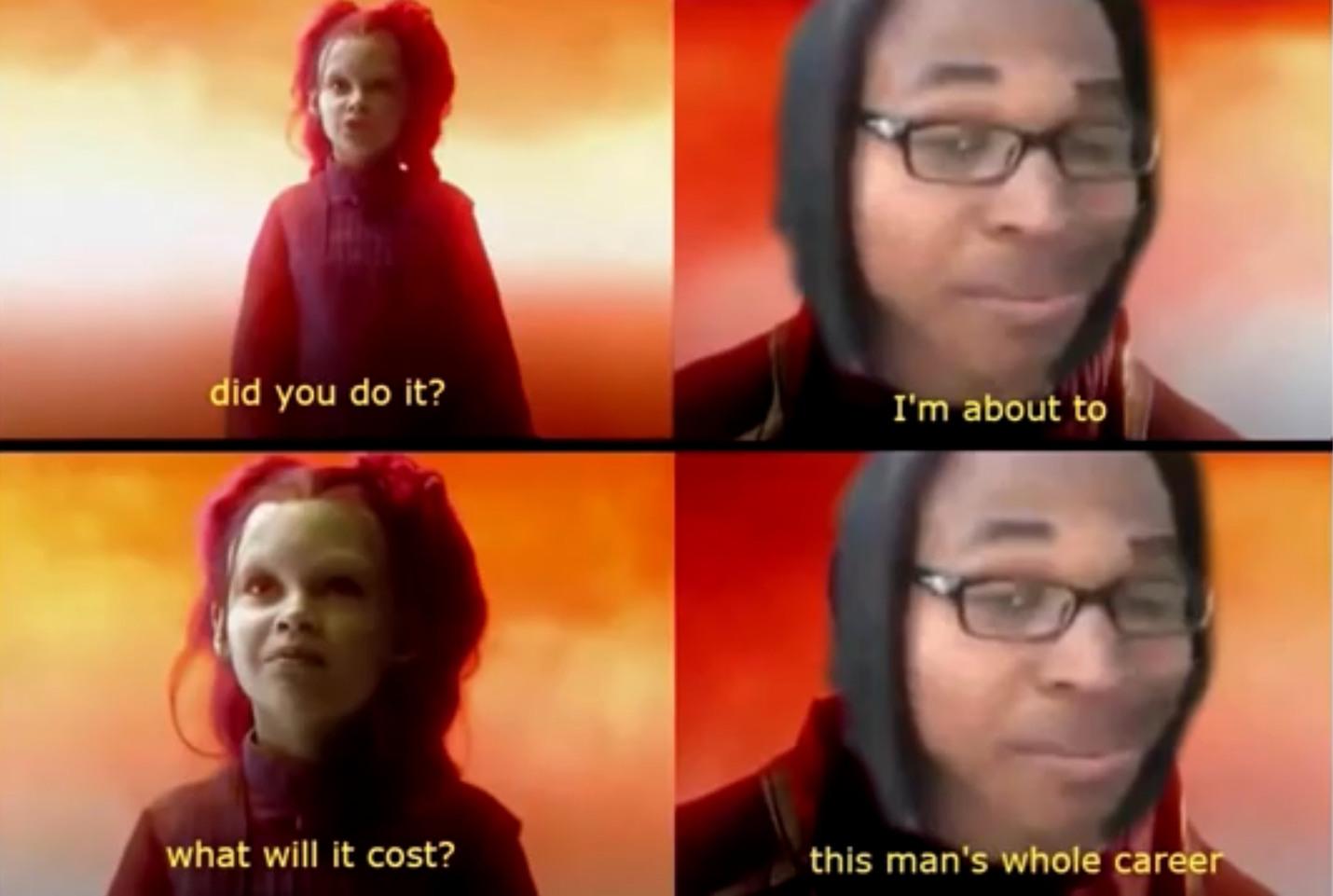 nobody - meme