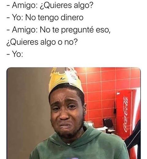 Tengo hambre :( - meme