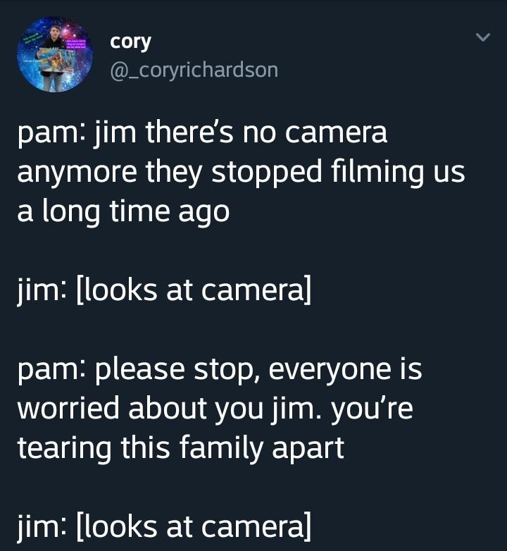 Oh, Jim - meme