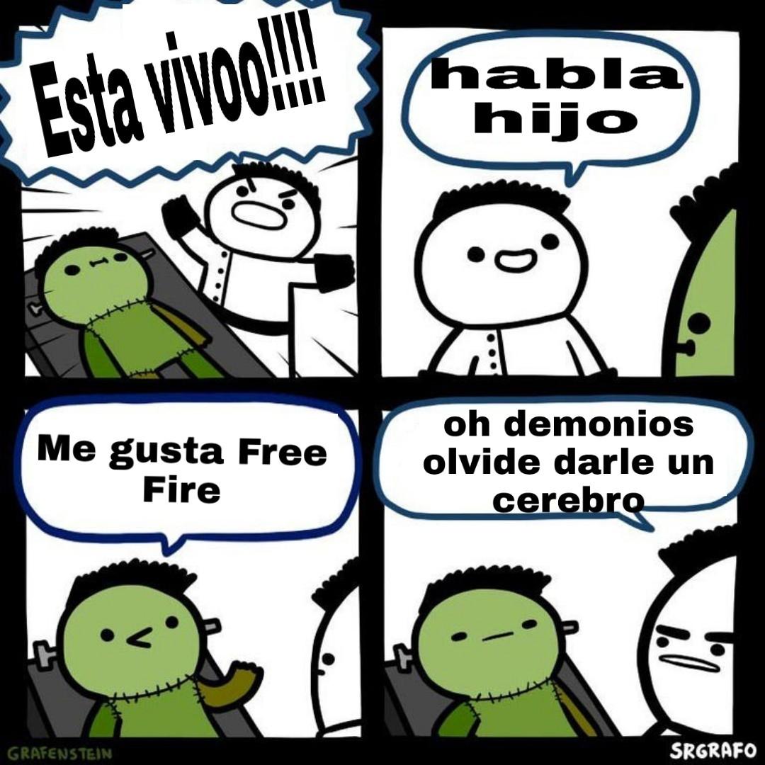 Free fire es bazofia - meme