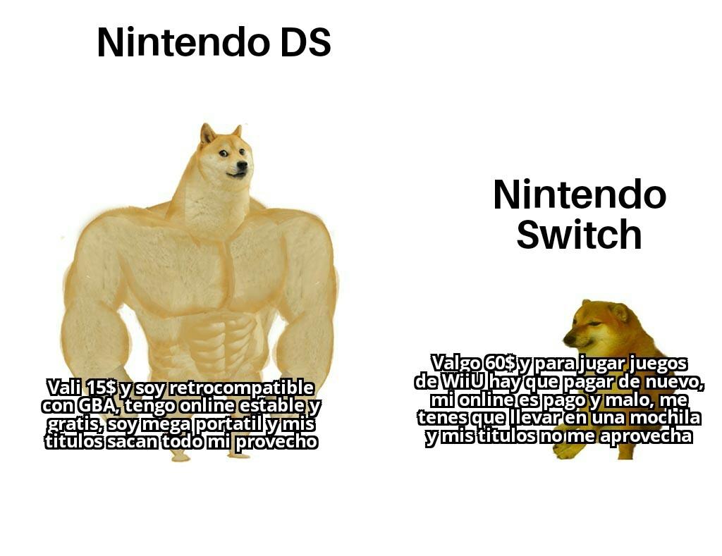 Una de mi primeras consolas junto a la ps2 - meme